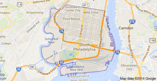 Map Of South Philadelphia South Philly: Learn The History, Tradition, Boundaries & Neighborhoods