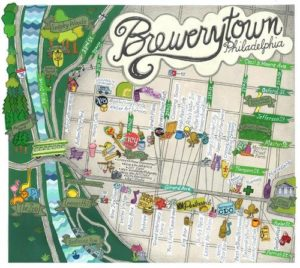brewerytown philadelphia neighborhood map