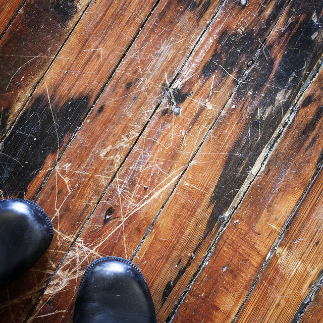 Those cute heels are actually damaging your hardwood floor for Wood floor repair