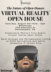 Virtual Reality Open House Event
