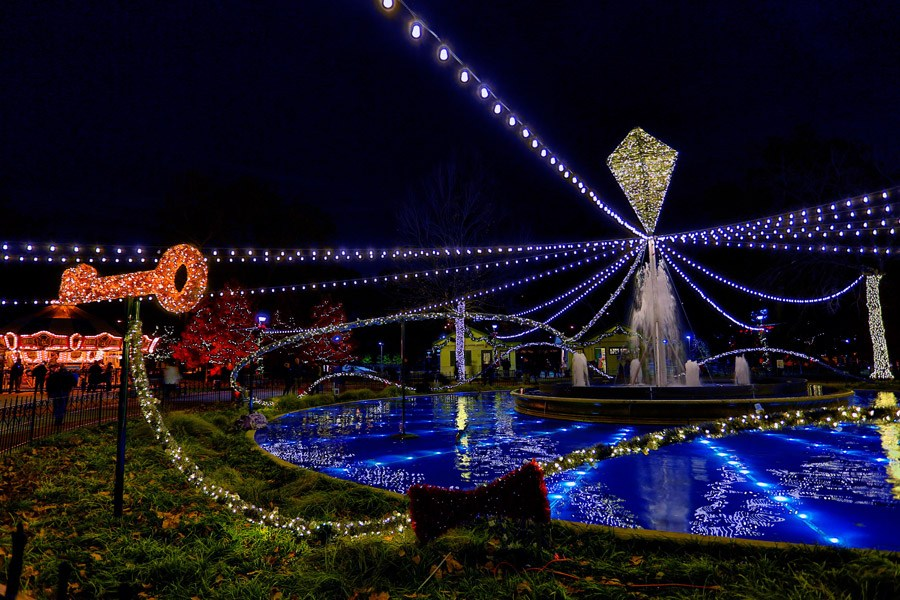 Light Up Your Holiday with Philly\'s Light Shows