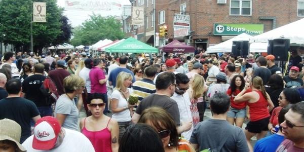 italian festival, italian market, agent lady, philadelphia