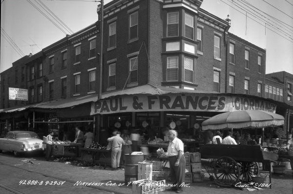 italian market, philadelphia, history, agent lady