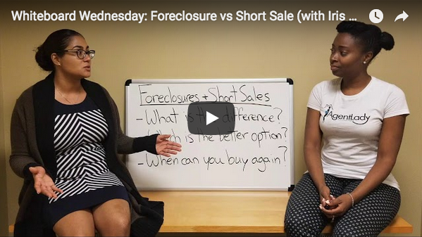 whiteboard wednesday, foreclosure, short sale, homebridge financial services