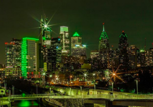 Philly Photo Friday: Philly Bleeds Green